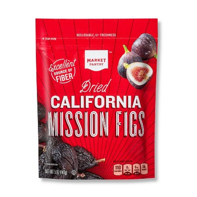 Dried Fruit & Raisins: Market Pantry California Mission Figs