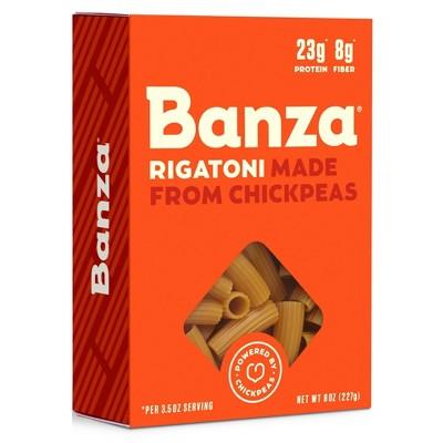 Banza Gluten Free Chickpea Rigatoni - 8oz