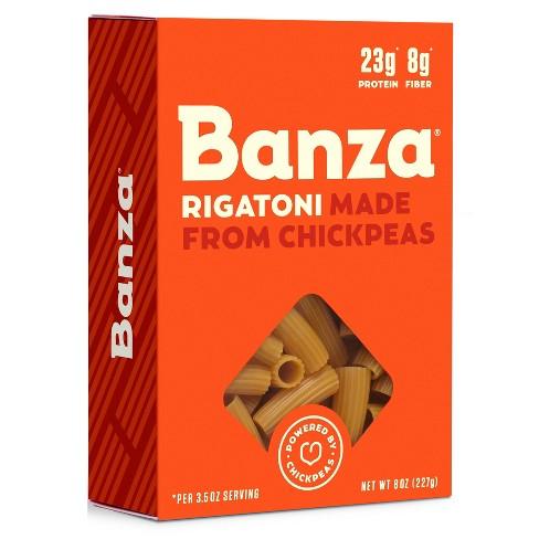 Banza Chickpea Pasta Rigatoni 8oz - image 1 of 4