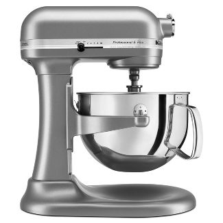 KitchenAid Professional 5qt Mixer Silver KV25G0X