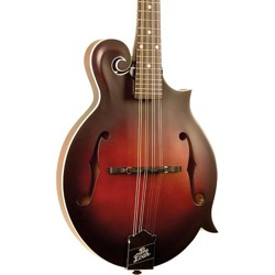 The Loar LM-310F Hand-Carved F-Style Mandolin Vintage Brown