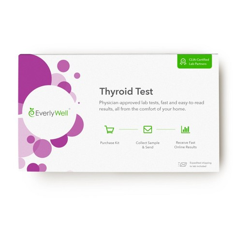 EverlyWell Thyroid Test - Lab Fee Included - image 1 of 4