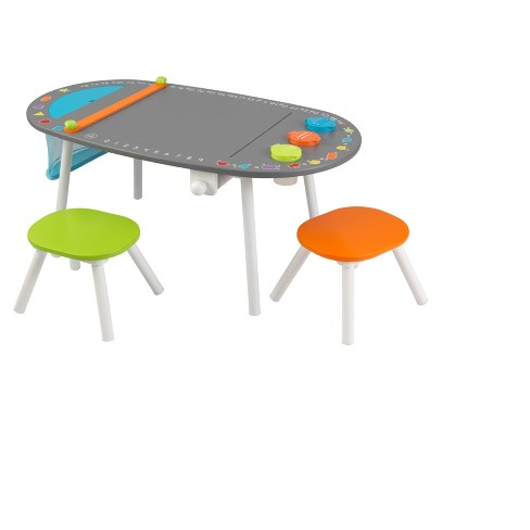 KidKraft Chalkboard Art Table with Stools - image 1 of 4