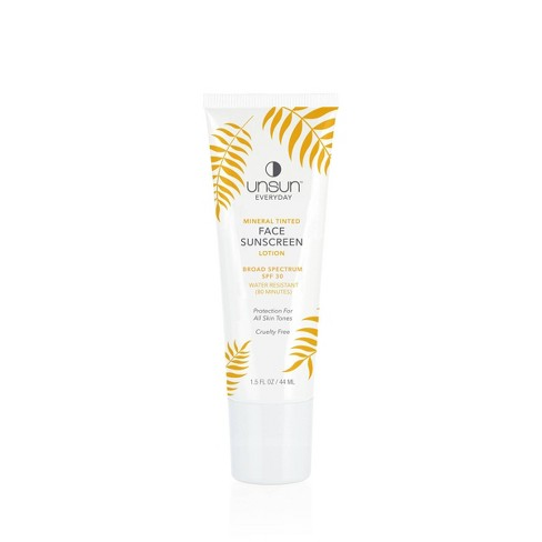 Unsun Cosmetics Mineral Tinted Face Sunscreen Lotion - SPF 30 - 1.5 fl oz - image 1 of 2