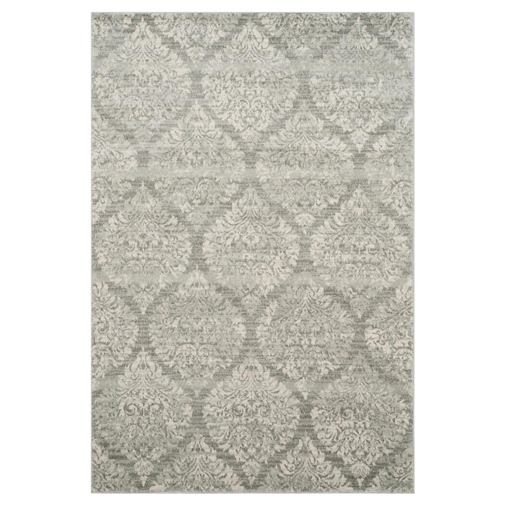 Evoke Rug - Grey/Silver - (6'7x9') - Safavieh, Gray/Silver