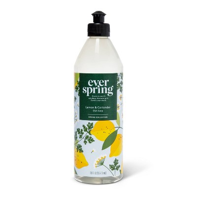 Liquid Dish Soap Lemon & Coriander - 18 fl oz - Everspring™