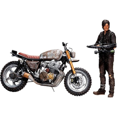 McFarlane Toys The Walking Dead AMC TV Daryl Dixon and New Bike Deluxe Action Figure Set - image 1 of 4