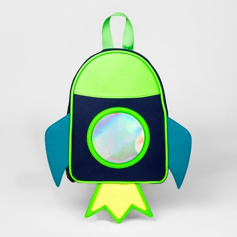 65ff76eebd5 Toddler Boys  Spaceship Backpack Handbag - Cat   Jack™ Blue   Target