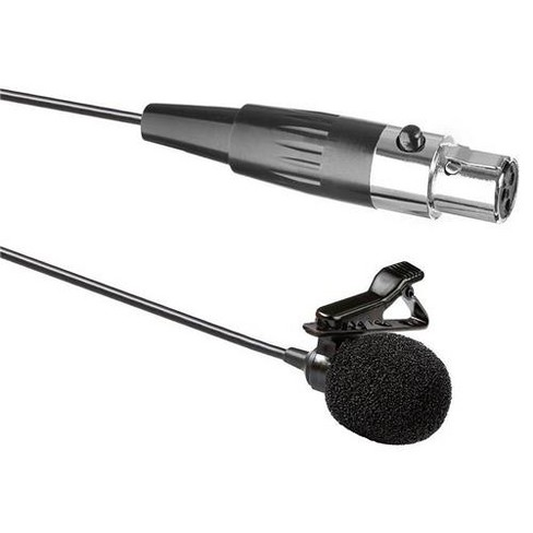 Saramonic SR-LV600 Omnidirectional Lavalier Microphone with 3-Pin Mini-XLR for SmartMixer and CaMixer Audio Interface, 20' Cable - image 1 of 1