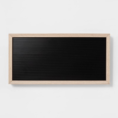 20 x 10  Letterboard Black - Room Essentials™
