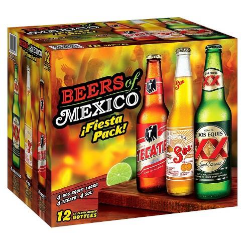 Cervezas de Mexico Variety Pack - 12pk/12 fl oz Cans - image 1 of 1