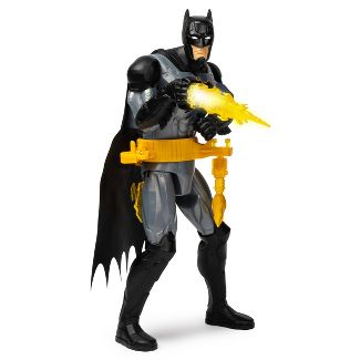 "Batman Rapid Change Utility Belt Batman Deluxe 12"" Action Figure with Lights and Sounds"