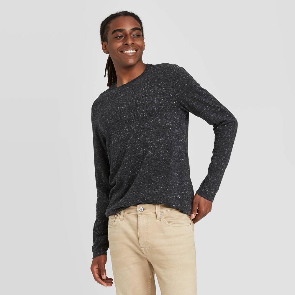 Discounts en's Athletic Fit Long Sleeve Lyndale Crewneck T-Shirt - Goodfellow & Co™