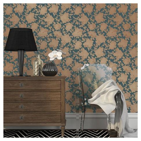 Tempaper Silhouette Removable Wallpaper