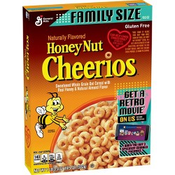 General Mills Cheerios Honey Nut Breakfast Cereal - 19.5oz