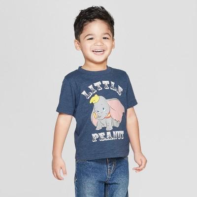 Toddler Boys' Disney 'Little Peanut' Short Sleeve T-Shirt - Blue 18M