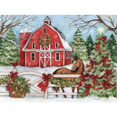 18ct Heartland Holiday Boxed Cards