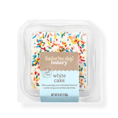 White Cake Slice - 6oz - Favorite Day™