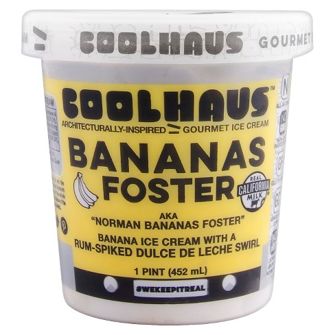 Coolhaus Bananas Foster Ice Cream - 1 Pint - image 1 of 1