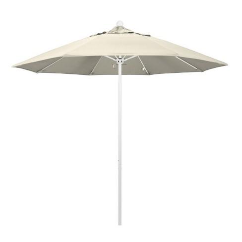 Venture 9' White Market Umbrella in Beige - California Umbrella - image 1 of 1