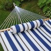 12 Foot Fabric Hammock with Steel Frame and Matching Pillow - image 4 of 4