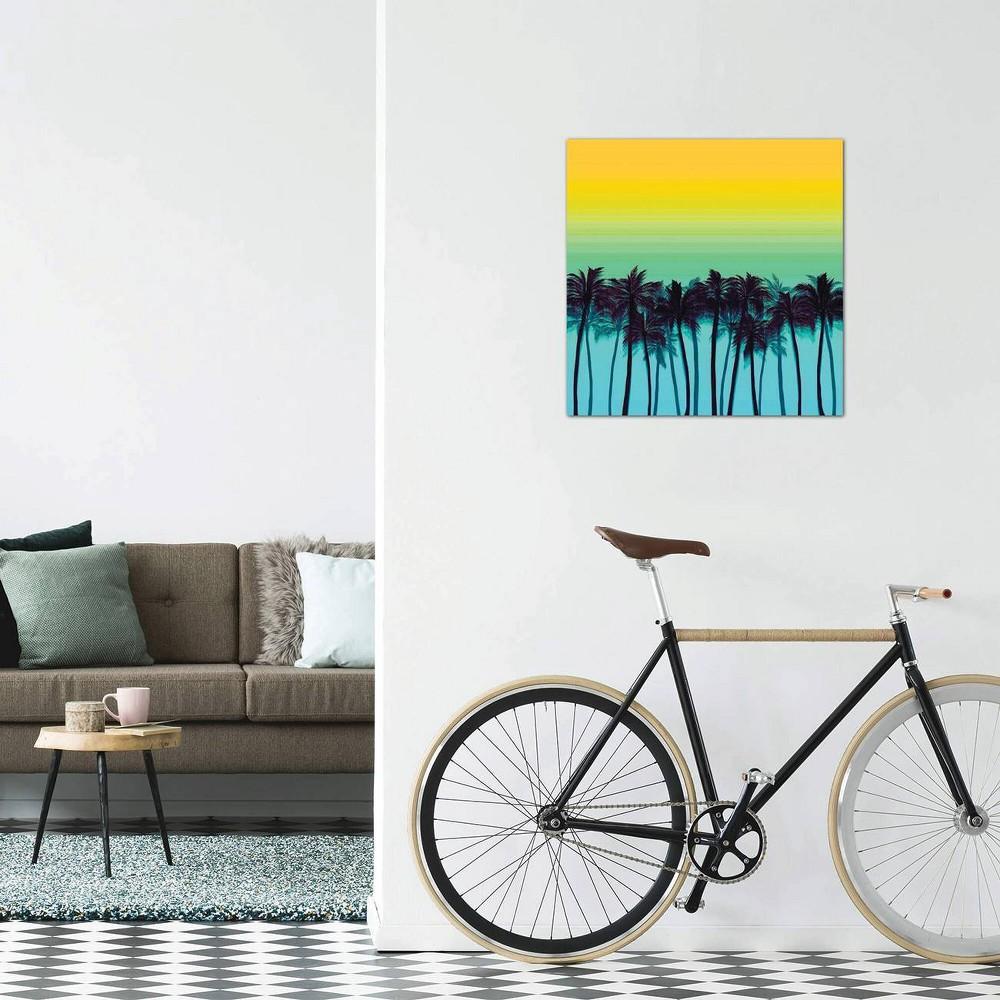 18 34 X 18 34 Beach Palms I Bold By Julia Di Sano Unframed Wall Canvas Print Icanvas