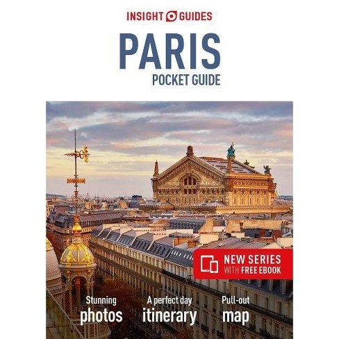 Insight Guides Pocket Paris (Travel Guide with Free Ebook) - (Insight Pocket Guides) 2 Edition - image 1 of 1