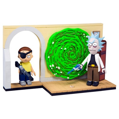 "Rick & Morty Small Building Sets - ""Evil Rick & Morty"" - image 1 of 1"