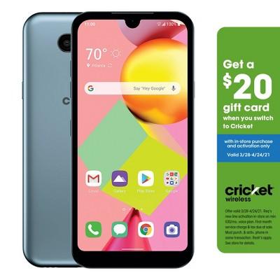 Cricket Prepaid LG Risio (16GB) 4 - Blue