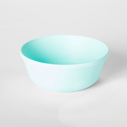 15.5oz Plastic Kids Bowl Light Blue - Pillowfort™ - image 1 of 2