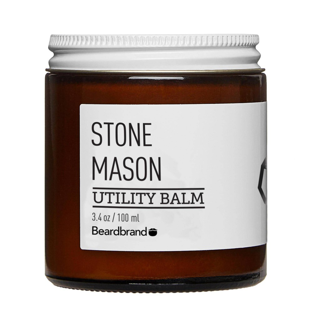 Image of Beardbrand Stone Mason Utility Balm - 3.4oz