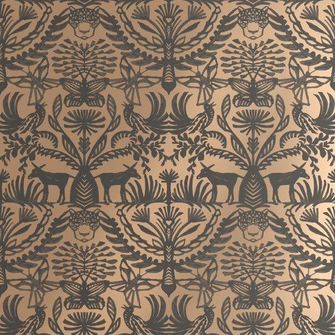 Eulalia L Stick Removable Wallpaper Metallic Gold Opalhouse Target