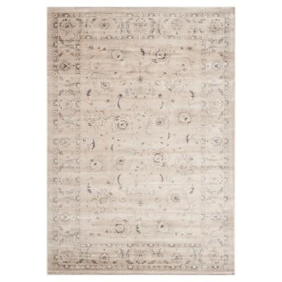 "Bianca Vintage Area Rug - Light Gray / Ivory ( 5' 1"" X 7' 7"" ) - Safavieh"