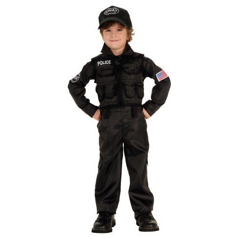 Boys' Policeman Swat Toddler Costume - image 1 of 1