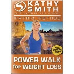 Kathy Smith: Matrix Method - Power Walk For Weight Loss (DVD)