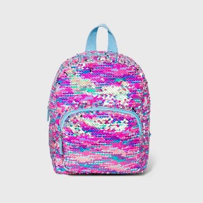 Girls' Sequin Mini Backpack - Cat & Jack™ Pink