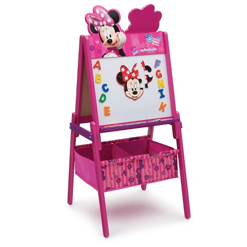 Delta Children® Minnie Wooden Double Sided - Pink - image 1 of 4