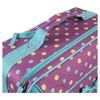 "Laura Ashley 19"" Rolling Suitcase - Polka Dot Print - image 4 of 4"