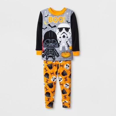 Baby Boys' Star Wars 2pc Pajama Set - Black 18 M