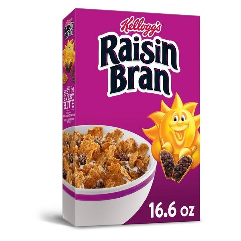Raisin Bran Breakfast Cereal - 16.6oz - Kellogg's - image 1 of 4