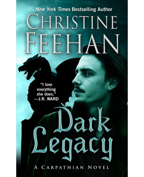 Dark Legacy -  Large Print by Christine Feehan (Hardcover) - image 1 of 1