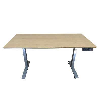 "60""x30"" Adjustable Standing Desk - Uncaged Ergonomics"