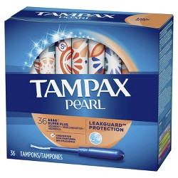 Tampax Pearl Super Plus Absorbency Tampons