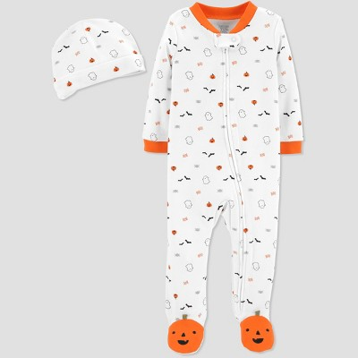 Babys' Halloween Print SNP Set - Just One You® made by carter's White Newborn