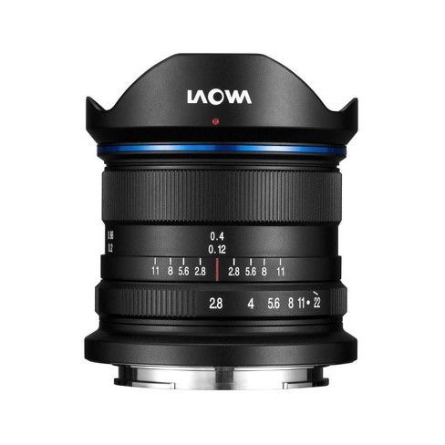 Laowa 9mm f/2.8 Zero-D Ultra Wide-Angle Prime Lens for Canon EF-M, Manual Focus - image 1 of 2
