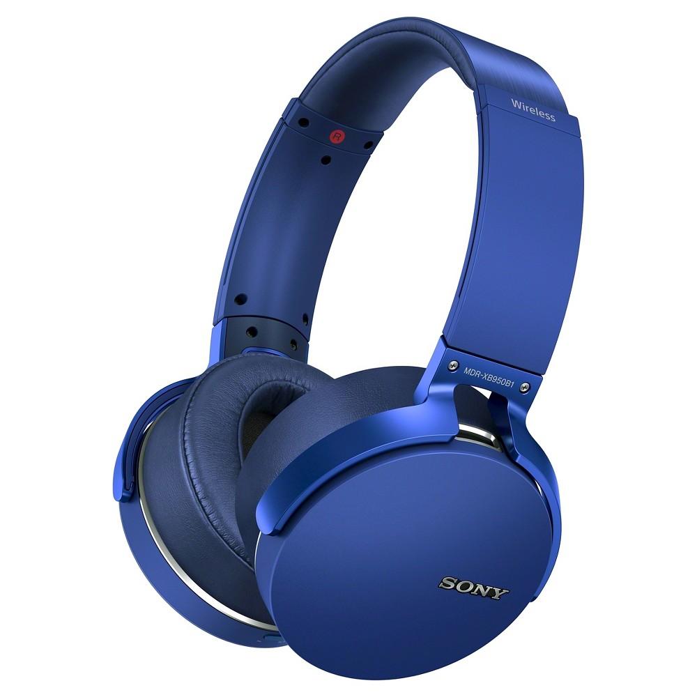 Sony Extra Bass Around Ear Wireless Headphone - Blue
