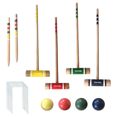 Spalding® Recreational Croquet - 26 Inch (4 Player Set) - image 1 of 6