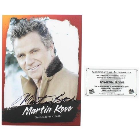 Nerd Block The Karate Kid Martin Kove (Sensei John Kreese) 5x7 Autographed Print w/ CoA - image 1 of 1