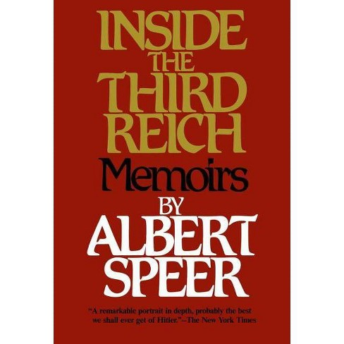 Inside the Third Reich - by  Albert Speer (Paperback) - image 1 of 1