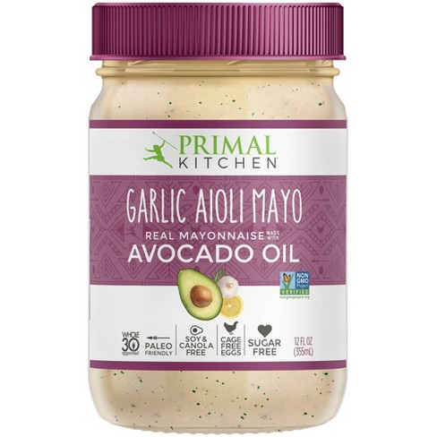 Primal Kitchen Garlic Aioli Mayo with Avocado Oil -12oz - image 1 of 4